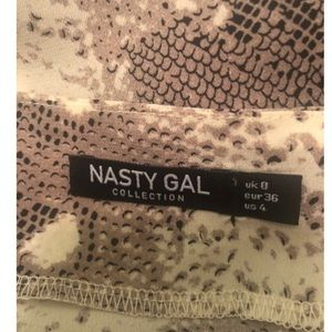 Nasty Gal Tops - Nasty Gal What Difference Does It Snake Cami Top